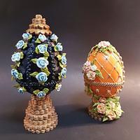 Huevos Fabergé colaboración huevos de pascua Fabergé