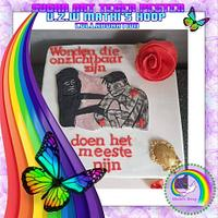 Sugar art tegen pesten vzw Mathi's hoop - collaboration