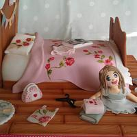 Bed cake....