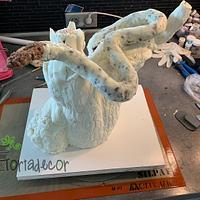 Snake cake by Agnes Havan-tortadecor.hu