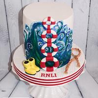 RNLI Collaboration Cake