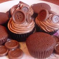 My Chocolate Button cupcakes