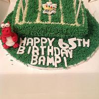 Welsh Rugby Fan Cake
