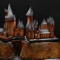 Hogwarts castle cake by Olga Danilova