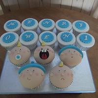 Happy 1st Birthday Cupcakes