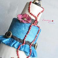 fashion cake for cake central