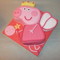 Peppa Pig Cake  by muffintops