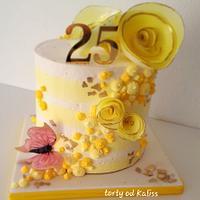 Birthday in yellow