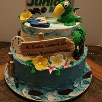 Jimmy Buffett Birthday Cake