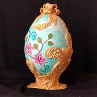 CATTLEYA Fabergé Easter Egg - Easter Faberge egg challenge by Bakerswood