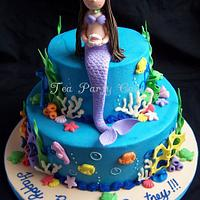 Sweet Mermaid by Tea Party Cakes