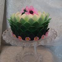 Miniature Tasting Cake in Leafs