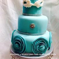 Teal, Cake
