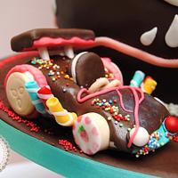 Wreck-it Ralph cake (Sugar Rush)