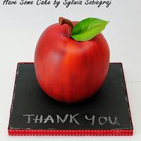 """ Thank you "" cake for the Teacher"