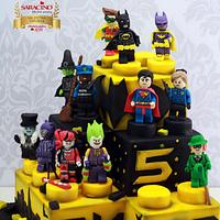 Batman Lego Movie Cake