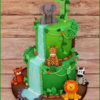 Safari Cake + Smash Cake