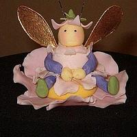 Gumpaste Fairy Bug