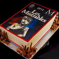 Les Miserables Cast Party Cake