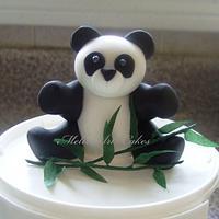 Little Panda bear by MelinArt