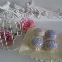 Cake Lace Cup Cakes