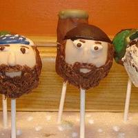 Duck Dynasty Cake Pops