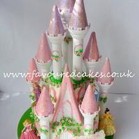 Enchanted Princess Castle Cake
