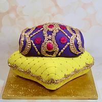 Dhol pillow cake