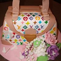 L. V.  cake
