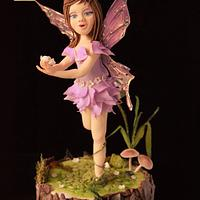 Woodland fairy - CPC World Day Collaboration  - 2018