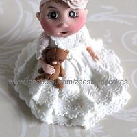 baby figure for Christening cake