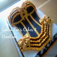Bustier Cake by lauraleelp7