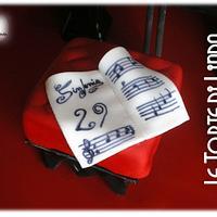 Piano Cake by Linda Bellavia Cake Art