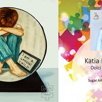 """A special child"" for  Sugar Art 4 Autism Collaboration"