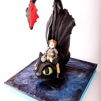 Diving Dragon and Hiccup