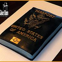 The UNITED STATES PASSPORT Cake