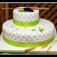first communion cake!!!!!