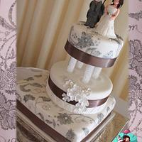 Invitation Wedding Cake