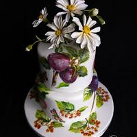 Fresh n Floral Birthday Cake