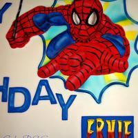 Spider-Man Cake by Laura Barajas