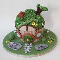 The Hobbit Giant Cupcake