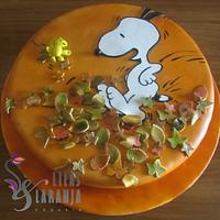 Snoopy in Autumn