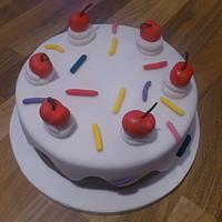Drippy cake by Rachel Nickson