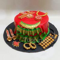 Bharathanatiyam cake