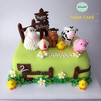 Torta Granja en Medellín, Farm Cake in Medellin