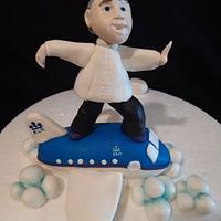 Personalized Tai Chi Cake topper