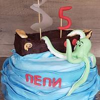 Pirat cake