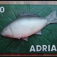 ' A good catch' - Fish on unhooking mat!