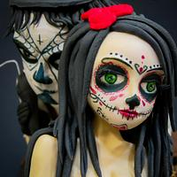Dia de Los Muertos Tattoo @ Sugar Skull Bakers 2016
