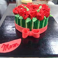 Buttercream Rose bouquet